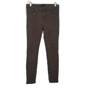 Joe's Olive Green Skinny Jeans 28 waist